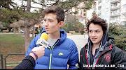 Kahkahaya boğan komik sokak röportajları