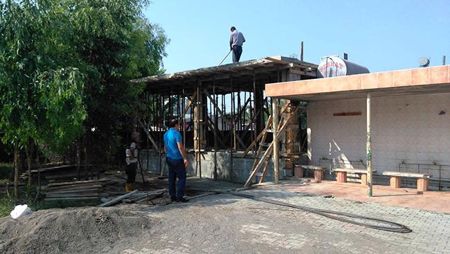 Veysel Karani Camii'nin eksikleri tamamlanıyor!