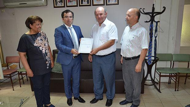 Vergi Dairesi Başkanı Tunalı, ÇGC'de
