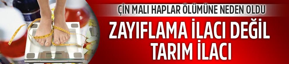 Çin malı ilaç Adanalı genci öldürdü!