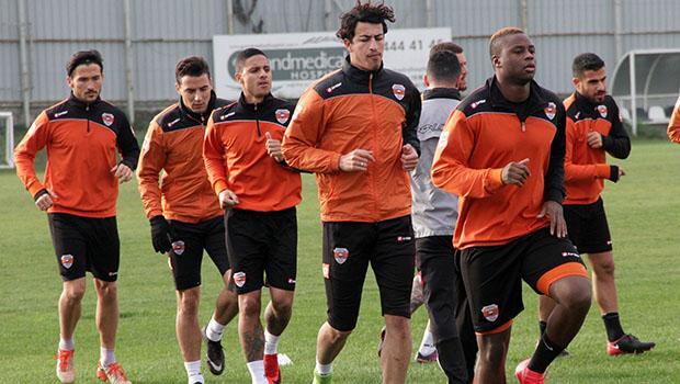 Adanaspor,  Manisaspor maçı hazırlıklarını tamamladı