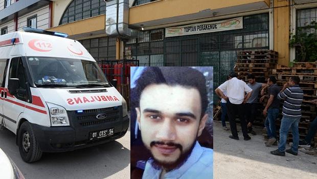 Yük Asansöründen Düşen Suriyeli Genç Öldü