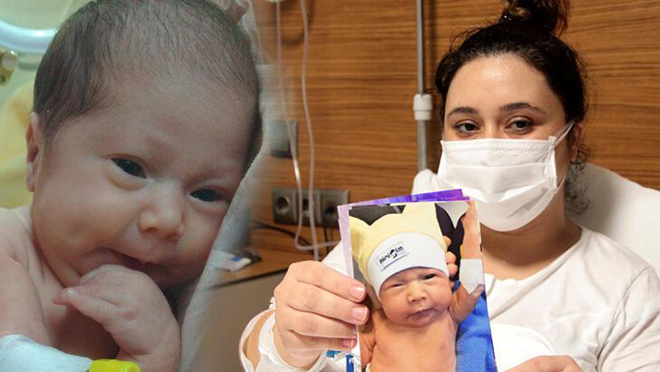 Aşı yaptırmadı, bebeği kuvöze kendi yoğun bakıma alındı