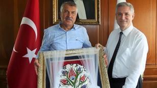 Başkan Karalar, Rektör  Kibar'ı Ziyaret Etti...