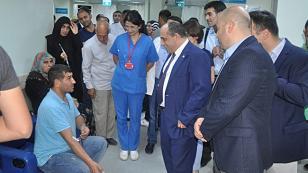 İl Sağlık Müdürü Dr. Özer Hastaneleri Denetledi...
