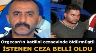 Özgecan'ın katilinin cezaevinde öldürülmesi davasında sona gelindi