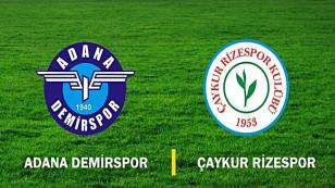 Adana Demirspor Evinde Yok: 1-3