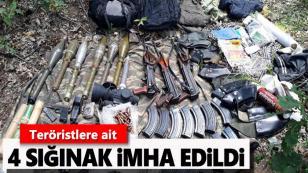 Öldürülen 4 PKK'lı teröristten biri örgütün sözde üst düzey yöneticisi çıktı