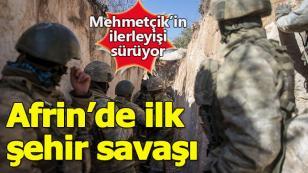 Afrin'de teröristler püskürtülüyor! Bölgede sıcak gelişmeler...
