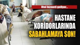 Hastanedeki banklarda sabahlamaya son! Bakanlık harekete geçti