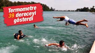 Adana'ya yaz erken geldi...