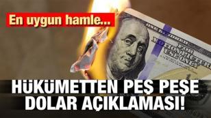 Hükümet'ten sert dolar çıkışı...