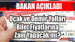 Ulaştırma Bakanı Arslan Açıkladı...