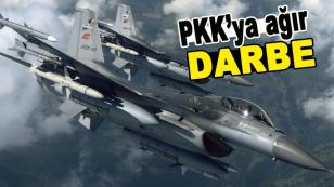 PKK'ya büyük darbe! Yerle bir edildi...