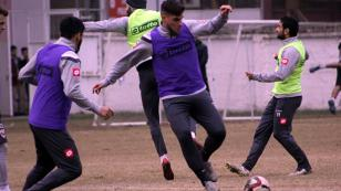 Kaplan Osmanlıspor maçı hazırlıklarına başladı