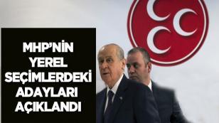 MHP 200 Belediye Başkan Adayını Daha Belirledi...