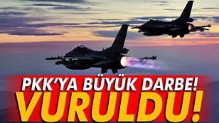 PKK'ya darbe üstüne darbe! 24 terörist etkisiz hale getirildi…
