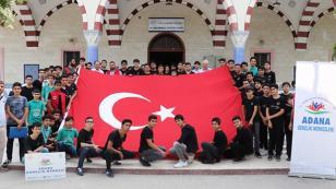 Gençlerden Mehmetçiğe Dualı Destek