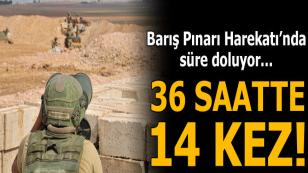Teröristlerden son 36 saatte 14 saldırı!