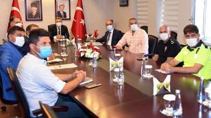 Yeni Adana Stadının güvenliği masaya yatırıldı...