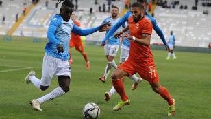 Adanaspor Erzurum'da dağıldı: 1-3