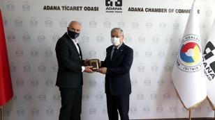 Çek Cumhuriyeti Büyükelçisi Vacek  ATO'da...