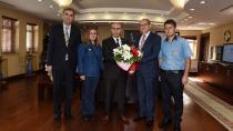 Vali Demirtaş'a PTT'nin 176. Kuruluş Yılı Ziyareti
