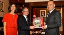 Brezilya Büyükelçisi'nden Başkan Sözlü'ye ziyaret