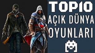 Top 10: En İyi Açık Dünya Oyunları