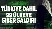 Dünya'da Siber Saldırı Paniği, Türkiye'de Etkilendi...