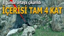 Herekol Dağı'nda PKK'nın kullandığı 38 mağara imha edildi!