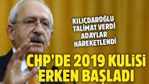 CHP'de 2019 yerel seçimleri için kulisler erken başladı