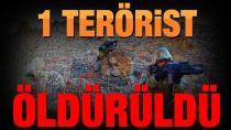 Namaz Dağı'nda çatışma: 1 terörist  ölü elegeçti