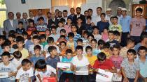 Kur'an-ı Kerim eğitimini tamamlayan öğrenciler ödüllendirildi
