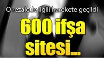 ''İfşa sitesi olarak bilinen 600 siteye idari işlem yapıldı''