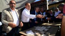 Başkan Sözlü Doğankent'te vatandaşla bir arada
