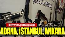 Türkiye'nin detaylı suç haritası çıkarıldı! Çok ilginç detaylar!