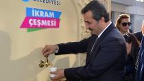 İkram Çeşmesi Adana'lının Hizmetinde!