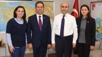 Akındoğan, Vali  Demirtaş'ı Ziyaret Etti