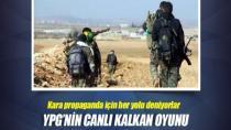 YPG sivilleri kalkan yapıyor!