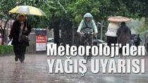 Meteoroloji'den yağış uyarısı...