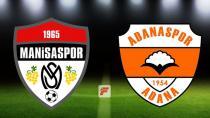 Adanaspor Manisa da son dakikada güldü: 2-1