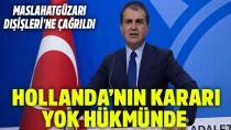 AB Bakanı Çelik, Kınadı...