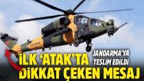 Üretilen ilk ATAK Helikopteri teslim edildi