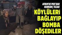 Teröristler yaşlı köylüleri birbirine bağlayıp mayınla tuzakladı