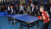 Adana'da 6. Veteran Masa Tenisi Heyecanı Başladı