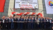 Adana Ticaret Borsası Kompleksi açıldı