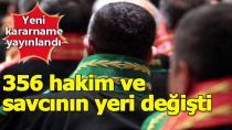 HSK Kararnamesi ile 356 Hakim ve Savcının Görev Yeri Değiştirildi