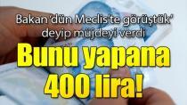 Sarıeroğlu, ''400 TL bakım desteği vereceğiz''