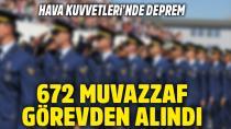 26 pilot ve 646 subay ve astsubay açığa alındı